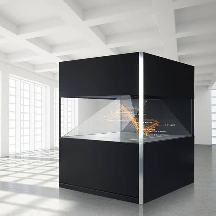 Holographisches Display Dreamoc XXL 180