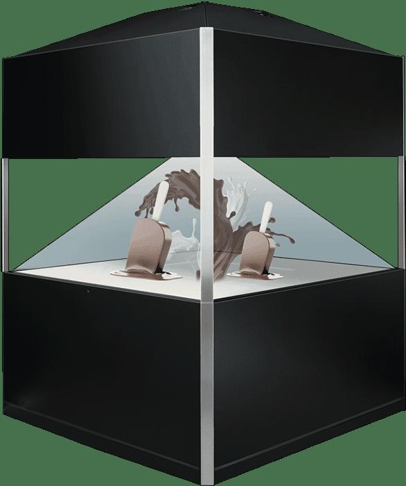 Holographie Display Dreamoc 360 XXL Schokoladeneis