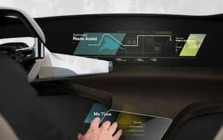 Holo Touch Bedienung BMW