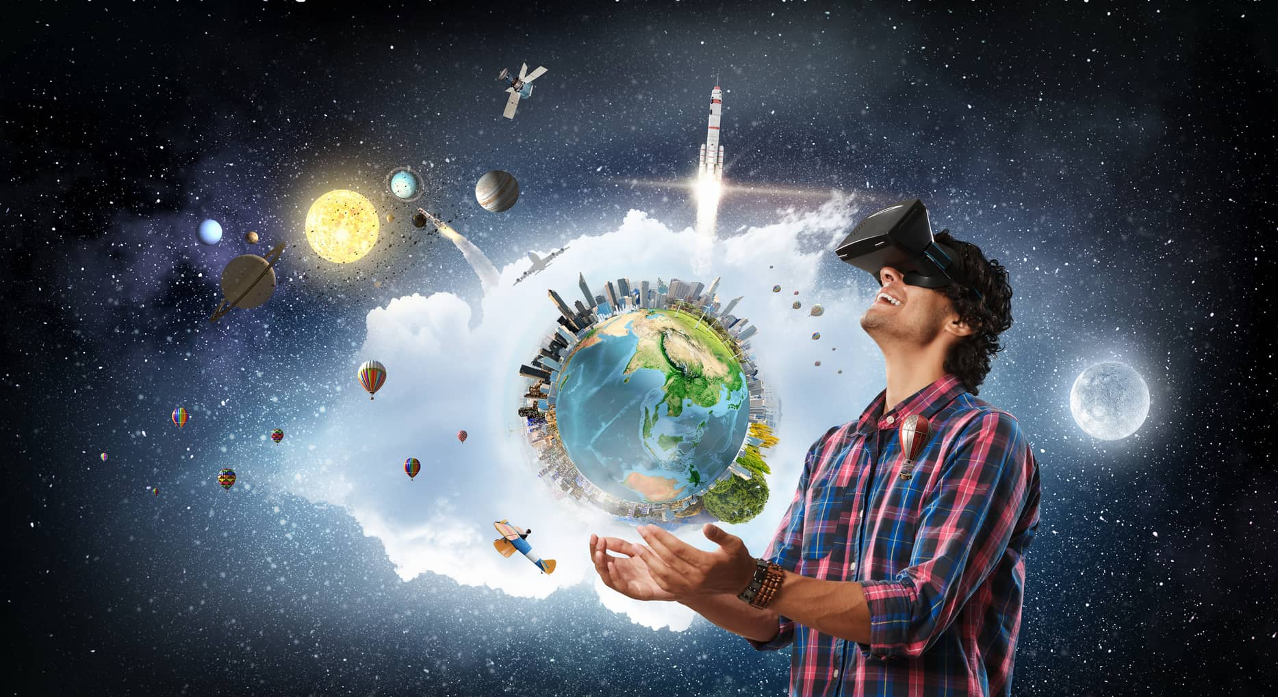 Unterschied Virtual Reality (VR) und Augmented Reality (AR)