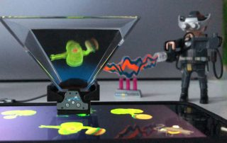 Playmo hologram Playmogram 3D Unboxing