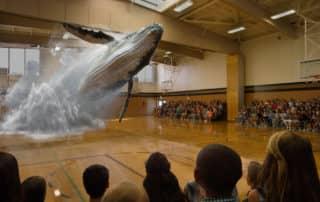 Hologramm Wal